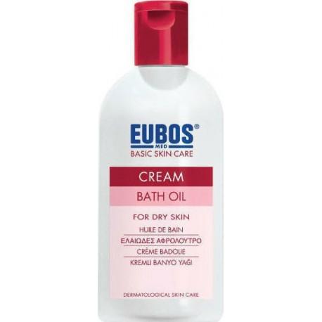 EUBOS - Cream Bath Oil, 200ml