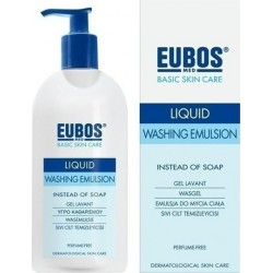 Eubos Blue Liquid Washing Emulsion Προσώπου & Σώματος 400ml