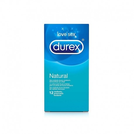 Durex - Natural 12τμχ. Προφυλακτικά