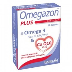 HEALTH AID - OMEGAZON PLUS (Omega 3 & Co Q10) 30caps