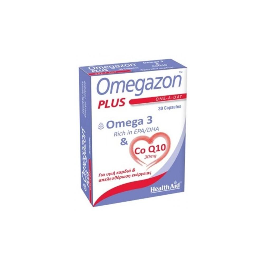 HEALTH AID - OMEGAZON PLUS (Omega 3 & Co Q10) 30caps