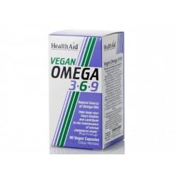 Health Aid Vegan Omega 3-6-9 60 φυτικές κάψουλες