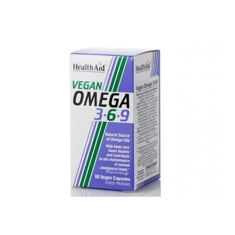 HEALTH AID - Vegan Omega 3-6-9, 60vecaps