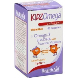 HEALTH AID - Kidz Omega - Chewable 60 caps