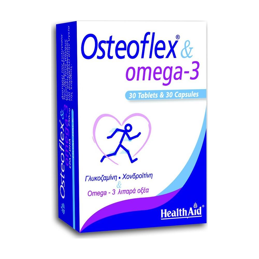 HEALTH AID Osteoflex & Omega 3 30Tabs+30Caps