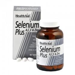 HEALTH AID - Selenium Plus, 60 TABS