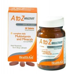 HEALTH AID - A to Z Multivit 30 tablets