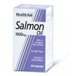 HEALTH AID - SALMON OIL, 60caps