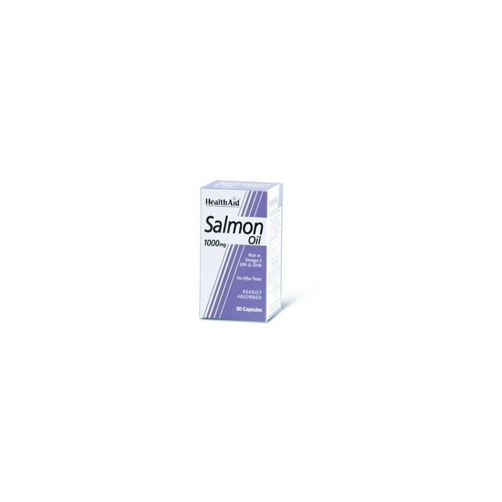 HEALTH AID - SALMON OIL, 60caps