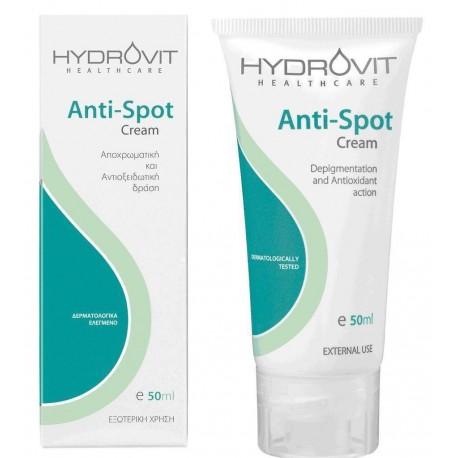 HYDROVIT Anti-Spot Cream Κρέμα με αποχρωματική και αντιοξειδωτική δράση, 50ml
