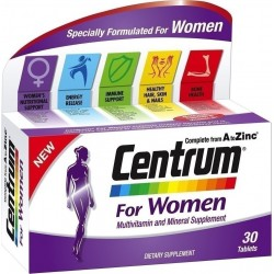 PFIZER - Centrum Women 30caps