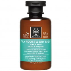 APIVITA - PROPOLINE Shampoo for Oily Roots and Dry Ends with honey & nettle 250ml