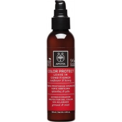APIVITA - PROPOLINE Moisturizing Color Protecting Leave In Conditioner for All Hair Types with honey & olive 150ml