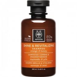 APIVITA - PROPOLINE Shine and Revitalizing Shampoo with citrus & honey 250ml