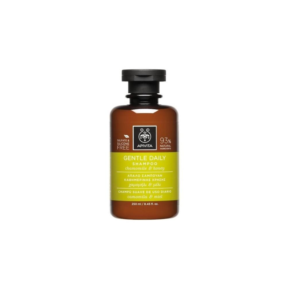 Apivita Απαλό Σαμπουάν Καθημερινής Χρήσης με Χαμομήλι & Μέλι 250ml