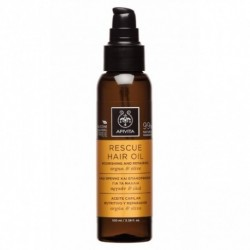 Apivita Rescue Hair Oil Argan & Olive 100ml
