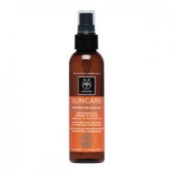 Apivita Suncare Protective Hair Oil Sunflower & Abyssinian Oil 150ml