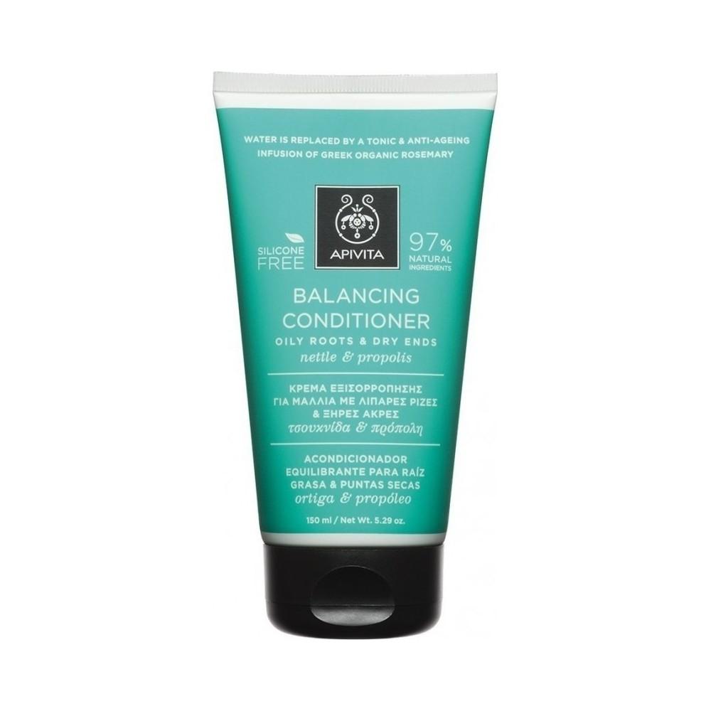 Apivita Balancing Conditioner 150ml Κρέμα Εξισορρόπησης για Μαλλιά με Λιπαρές Ρίζες & Ξηρές Άκρες με Τσουκνίδα & Πρόπολη