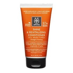 APIVITA - PROPOLINE Shine and Revitalizing Conditioner for All Hair Types with citrus & honey 150ml
