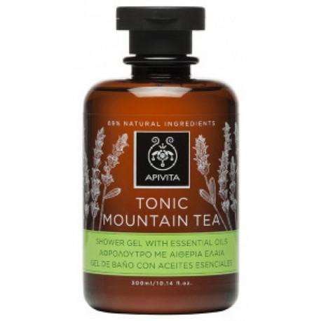 APIVITA - BODY TONIC Toning Bath & Shower Gel with bergamot & green tea 300ml