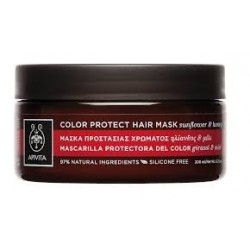 Apivita Μάσκα Προστασίας Χρώματος για Βαμμένα Μαλλιά με Ηλίανθο και Μέλι 200ml
