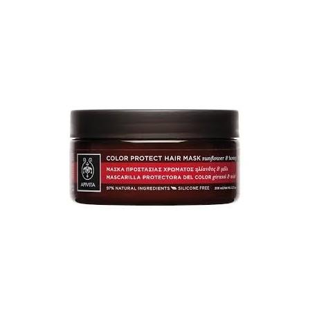APIVITA - Μάσκα Λάμψης Χρώματος & Ενυδάτωσης για Βαμμένα Μαλλιά 200ml