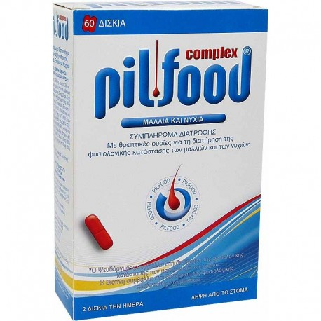PHARMAZAC - PILFOOD Food supplement for hair and nails, 100 caps