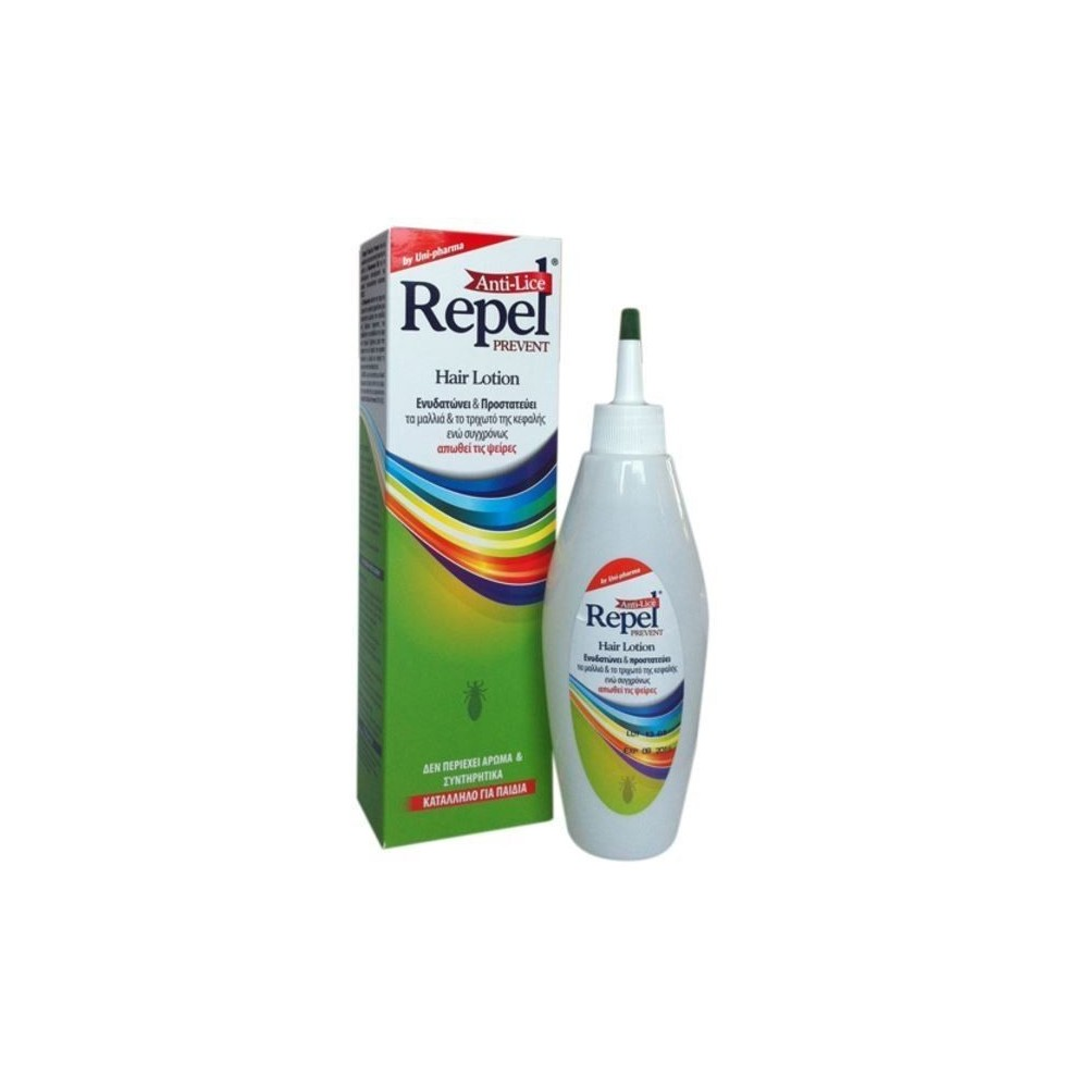 Uni-Pharma Repel Anti-lice Prevent Απωθητική Λοσιόν 200ml.
