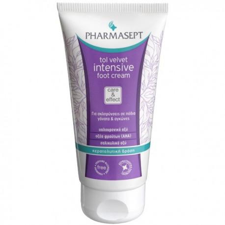Pharmasept Tol Velvet Intensive Foot Cream για σκληρύνσεις στα πόδια γόνατα και αγκώνες 75ml