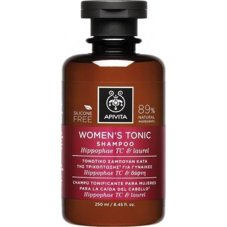 Apivita Women's Tonic Σαμπουάν κατά της Γυναικείας Τριχόπτωσης Hippophae TC & Δάφνη 250ml