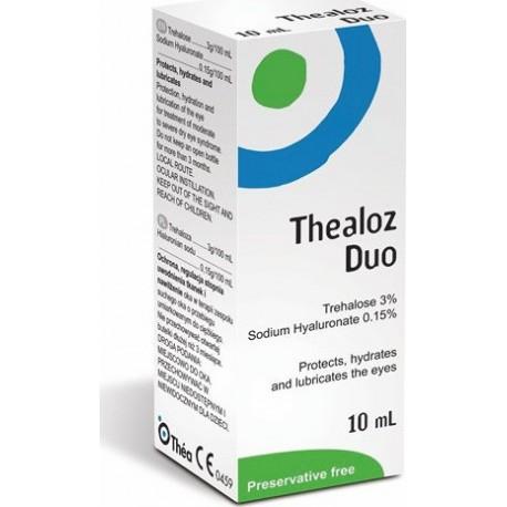 Thea Synapsis Thealoz Duo Eye Drops Οφθαλμικές Σταγόνες 10ml