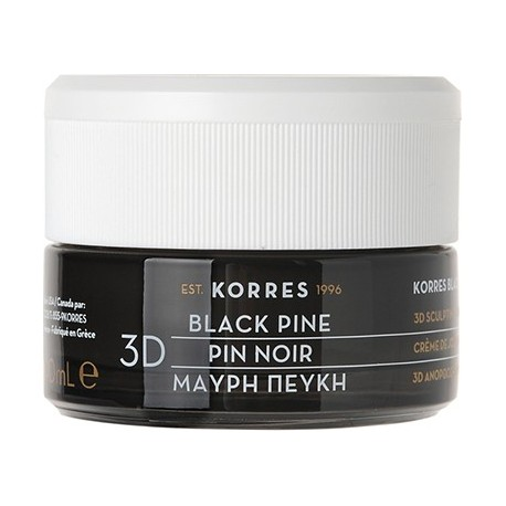KORRES - BLACK PINE ANTIWRINKLE & FIRMING NIGHT CREAM For all skin types, 40mL