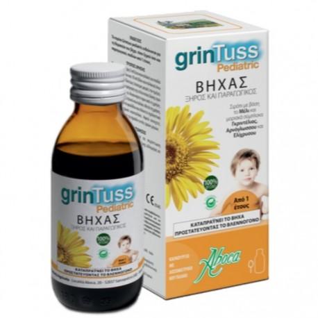Aboca grinTuss Pediatric Παιδικό Σιρόπι για Ξηρό & Παραγωγικό Βήχα 180g