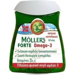 Moller's Forte Omega-3 60 κάψουλες