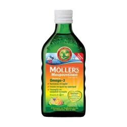 Moller's Μουρουνέλαιο Πλούσιο σε Omega 3 με Γεύση Φρούτων 250ml (Tutti Frutti)