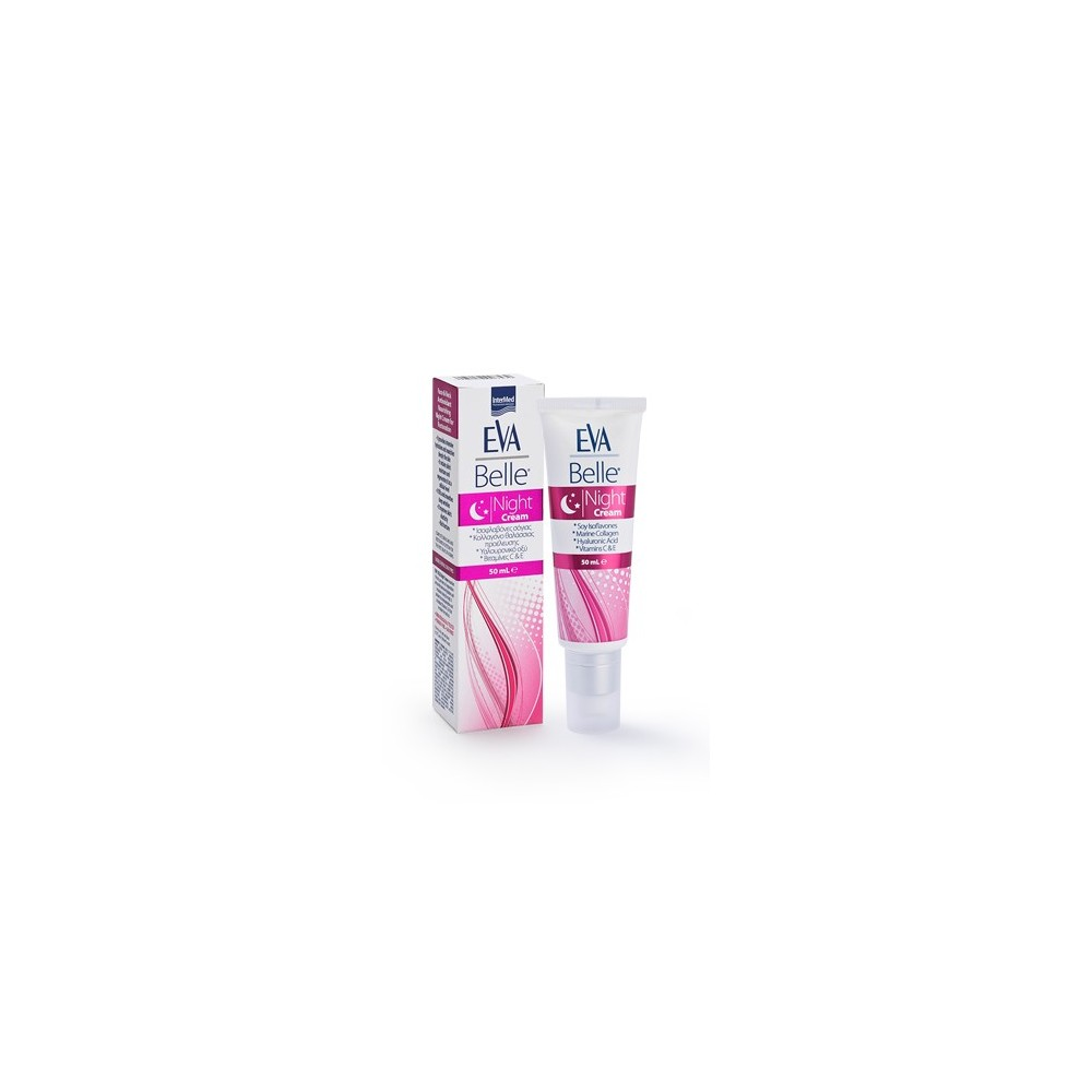 Eva Belle Night Cream Θρεπτική Κρέμα Νυκτός για Ανάπλαση 50ml