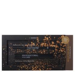 Promo Korres Black Volcanic Minerals Mascara 01 Μαύρο 8ml & Black Volcanic Minerals Long Lasting Eyeliner 1.2g