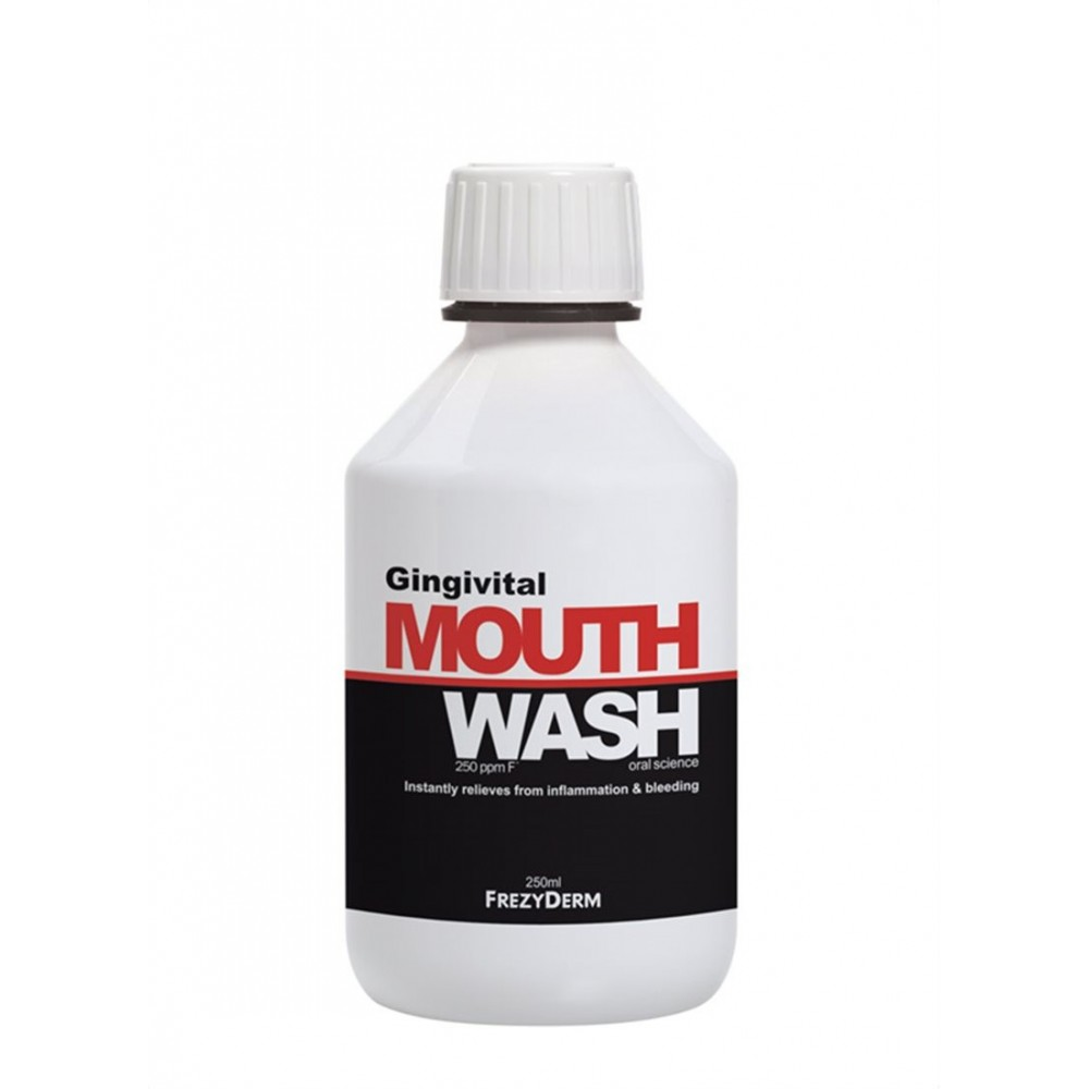 Frezyderm Gingivitis MouthWash Στοματικό Διάλυμα για Ουλίτιδα 250ml