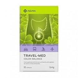 Agan Travel-Med Colon Balance 10 Κάψουλες