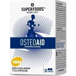 Superfoods Osteoaid για υγιείς αρθρώσεις, 30 caps