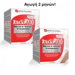 Αγωγή 2 Μηνών Forte Pharma XtraSlim 700 Ισχυρή Καύση Θερμίδων 2x120caps
