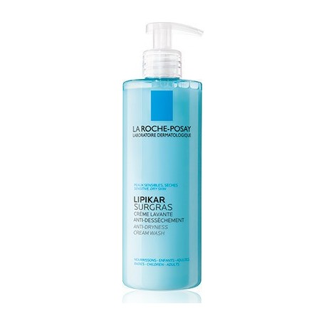 LA ROCHE POSAY - LIPIKAR SURGRAS LIQUID Ultra-rich Body Wash Daily care for very dry and irritated skin in children and adults,