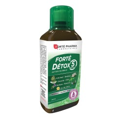 Forte Pharma Forte Detox 5 Organes Συμπλήρωμα Διατροφής με Συνολική Δράση σε 5 όργανα 500ml