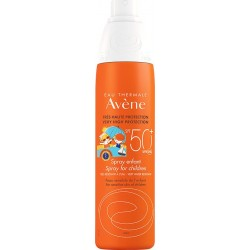 AVENE ENFANT, KID'S SPRAY SPF 50+ FOR SENSITIVE SKIN, 200ml
