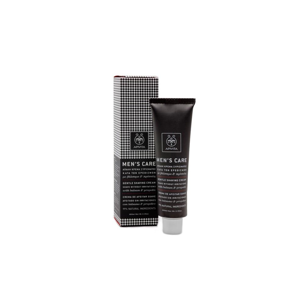APIVITA - Men's Care Gentle Shaving Cream with balsam & propolis, 100 ml