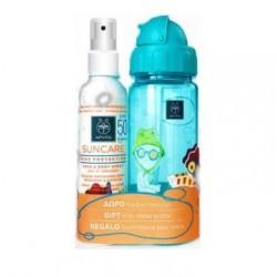 Apivita Promo Suncare Αντηλιακό Spray για Νήπια και Παιδιά SPF50 & ΔΩΡΟ Παιδικό Παγούρι