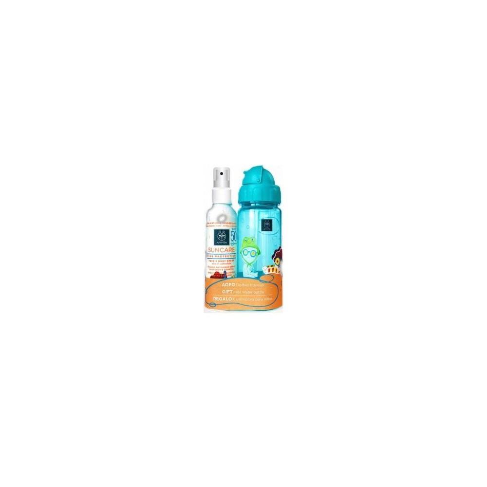 Apivita Suncare Αντηλιακό spray για νήπια και παιδιά SPF50 + ΔΩΡΟ Παιδικό UV βραχιόλι