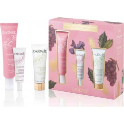 Caudalie PROMO Vinosource Moisturizing Sorbet 40ml & ΔΩΡΟ Vinosource S.O.S Thirst-Quenching Serum 10ml & Moisturizing Mask 15ml