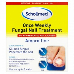 Dr.Scholl - Fungal Nail Treatment, 3.8ml liquid solution & 5 5 files