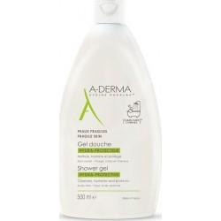 A-Derma Shower Gel Hydra-Protective Αφρόλουτρο για Ευαίσθητες Επιδερμίδες 500ml